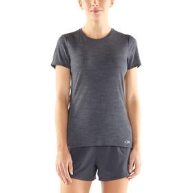Icebreaker Amplify - Camiseta Running Mujer - negro
